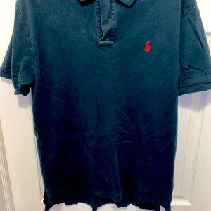 Black/Red Ralph Lauren Polo Shirt
